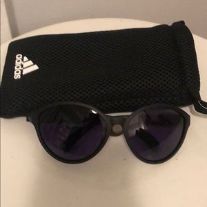Adidas Sports Sunglasses with Case.
